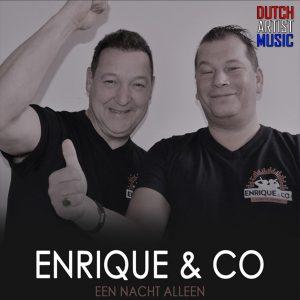 Enrique en Co - Een nacht alleen HOES SOCIAL MEDIA